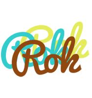 Rok cupcake logo