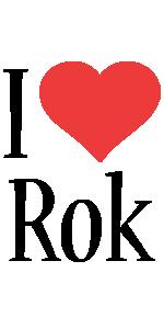 Rok i-love logo
