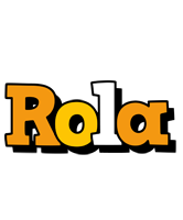 Rola cartoon logo