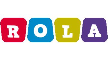 Rola daycare logo