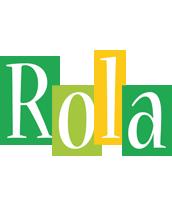 Rola lemonade logo