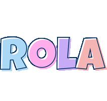 Rola pastel logo
