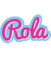 Rola popstar logo