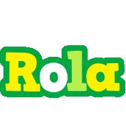Rola soccer logo