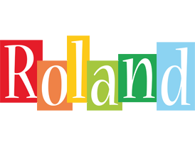 Roland colors logo