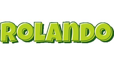 Rolando summer logo