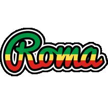 Roma african logo