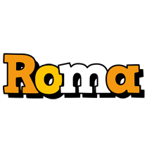 Roma cartoon logo