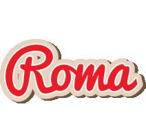 Roma chocolate logo