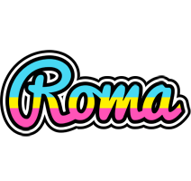 Roma circus logo
