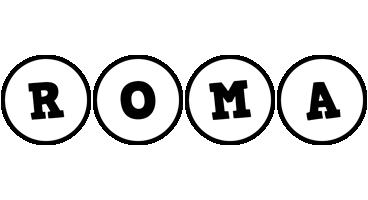 Roma handy logo