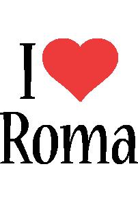 Roma i-love logo