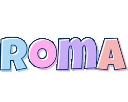 Roma pastel logo