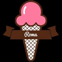Roma premium logo