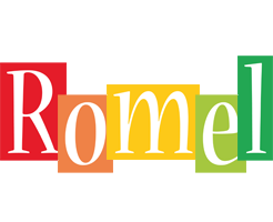 Romel colors logo