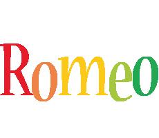 Romeo birthday logo