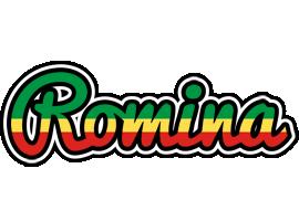 Romina african logo