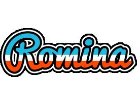 Romina america logo