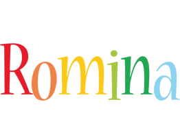 Romina birthday logo