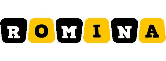Romina boots logo