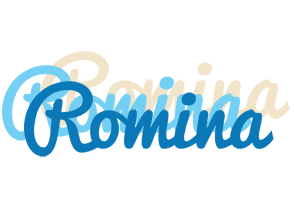 Romina breeze logo