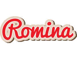 Romina chocolate logo