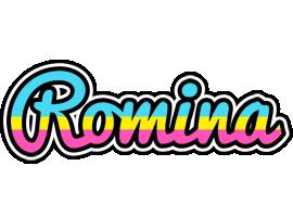 Romina circus logo