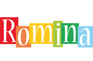 Romina colors logo