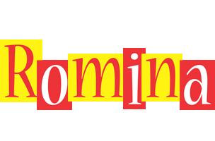 Romina errors logo