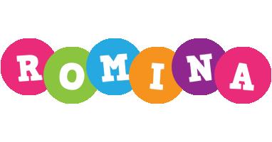 Romina friends logo