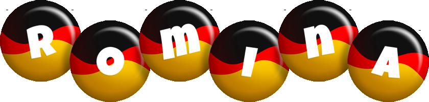 Romina german logo