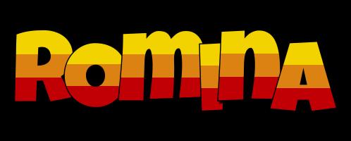 Romina jungle logo