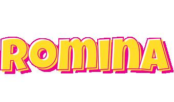 Romina kaboom logo