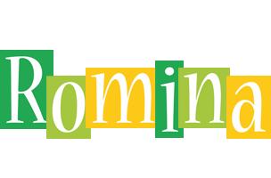 Romina lemonade logo