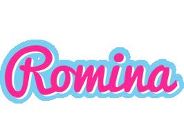 Romina popstar logo