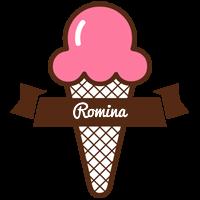 Romina premium logo