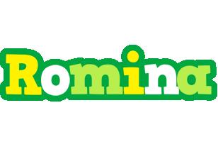 Romina soccer logo