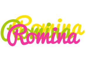 Romina sweets logo