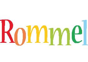 Rommel birthday logo