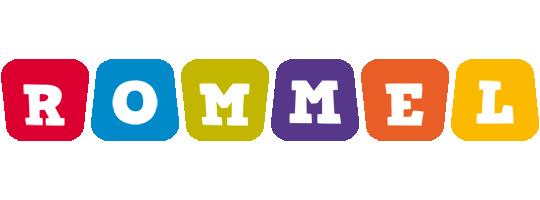 Rommel kiddo logo