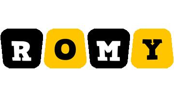 Romy boots logo