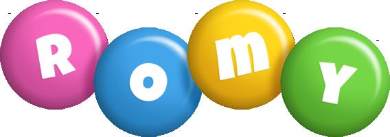 Romy candy logo