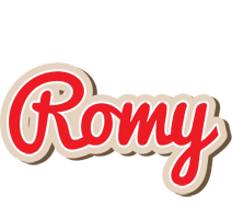 Romy chocolate logo