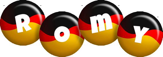 Romy german logo