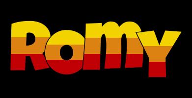 Romy jungle logo