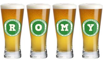 Romy lager logo