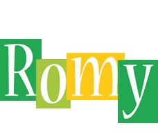 Romy lemonade logo