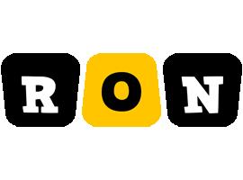Ron boots logo