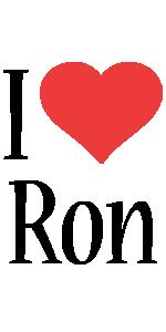 Ron i-love logo