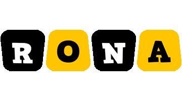 Rona boots logo